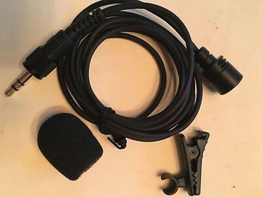 ECM X7 BMP Electret Condenser Lapel Microphone