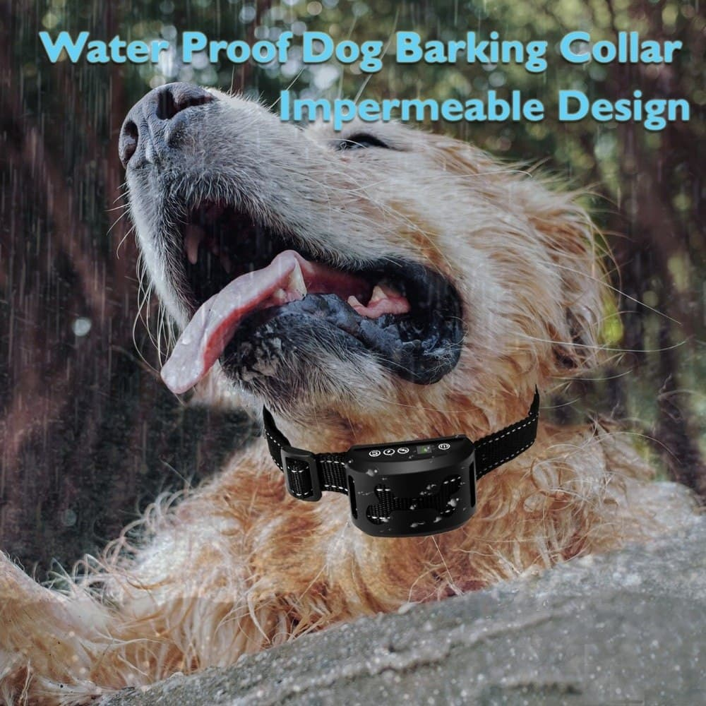 Dog Training Collars With Beep Rechargeable Water Proof
