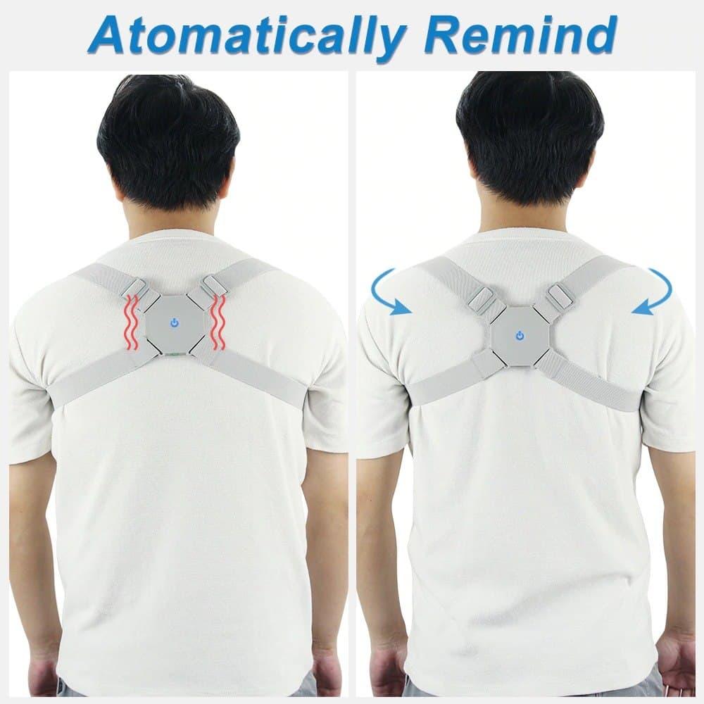 Smart Back Posture Corrector Back Intelligent Brace Support Belt Shoulder Training Belt