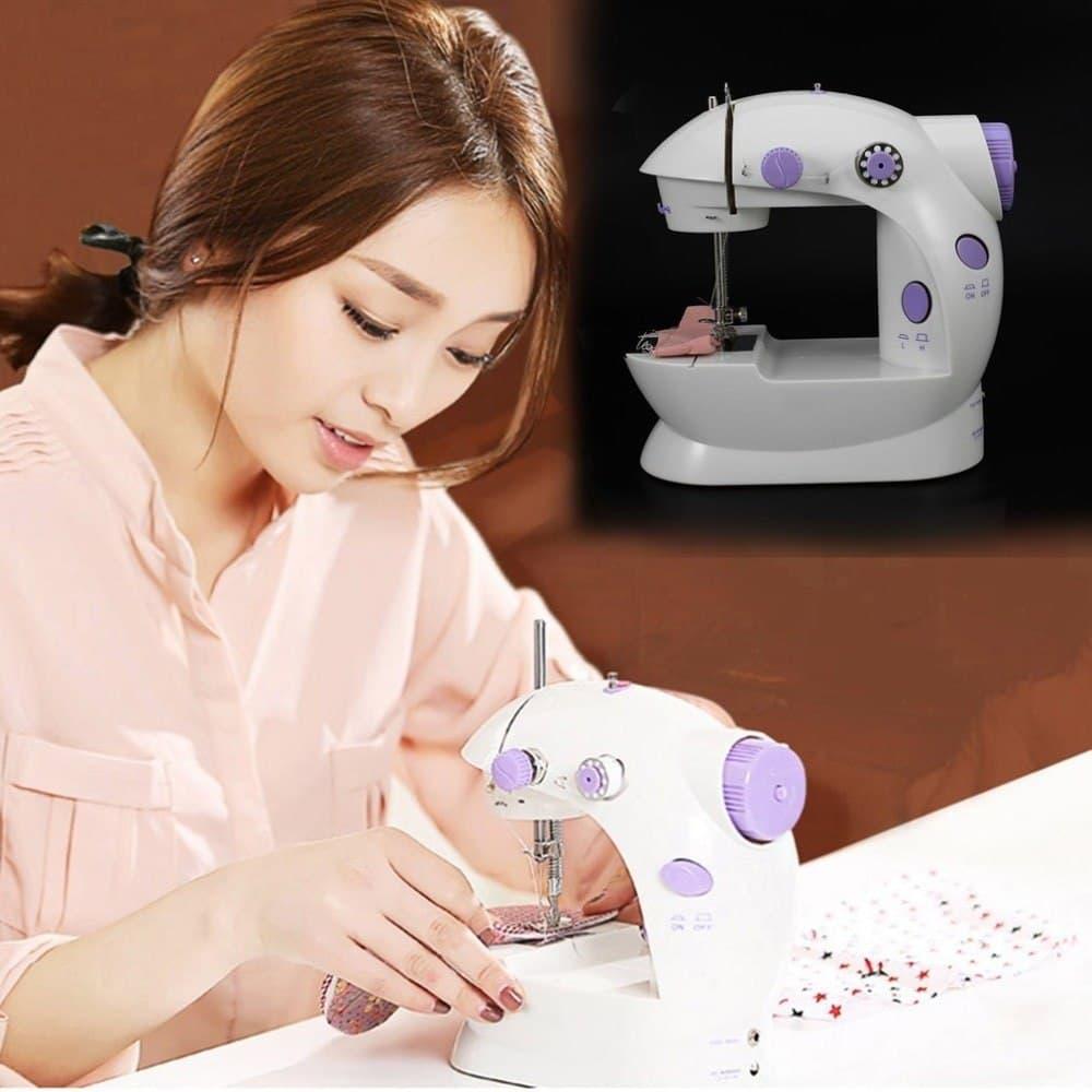 Electric Mini Sewing Machine Home Hand Machine Lock Stitch Adjustment