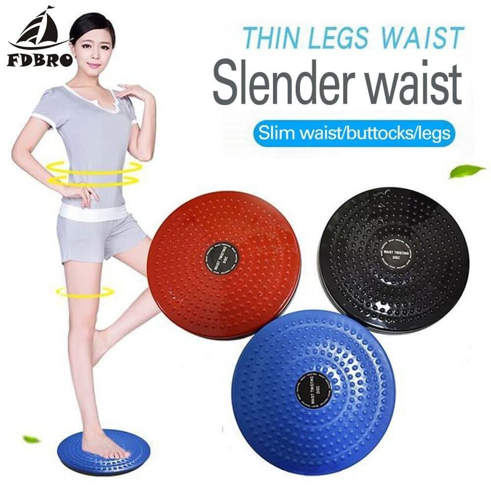Twister Plate Exercise Gear Plastic Waist Twist Disc