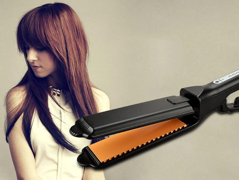 Professional Electric Hair Straightener Hair Flat Iron Ceramic Heat Curler