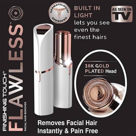 Women Epilator Smooth Face Electric Hair Remover