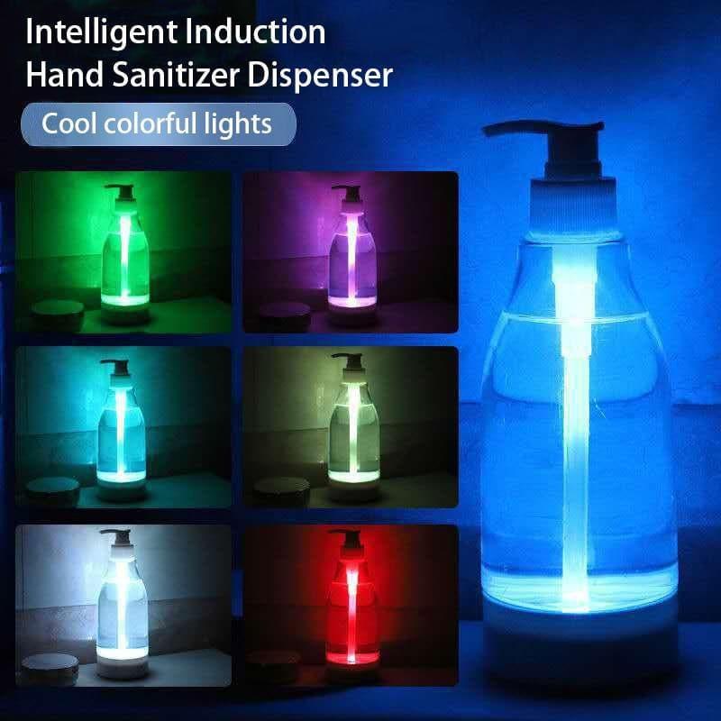 Brite LED Colorful Liquid Glowing Bottle Hand Tool Sensor Light