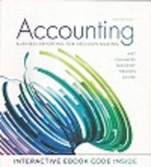 Account Business Reporting For Decision Making
