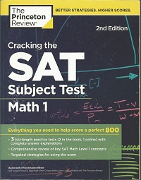 Cracking the SAT Subject  Test Math 1